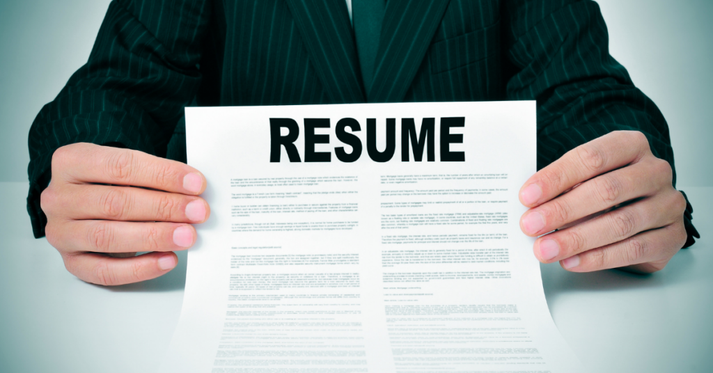 resume reference guide