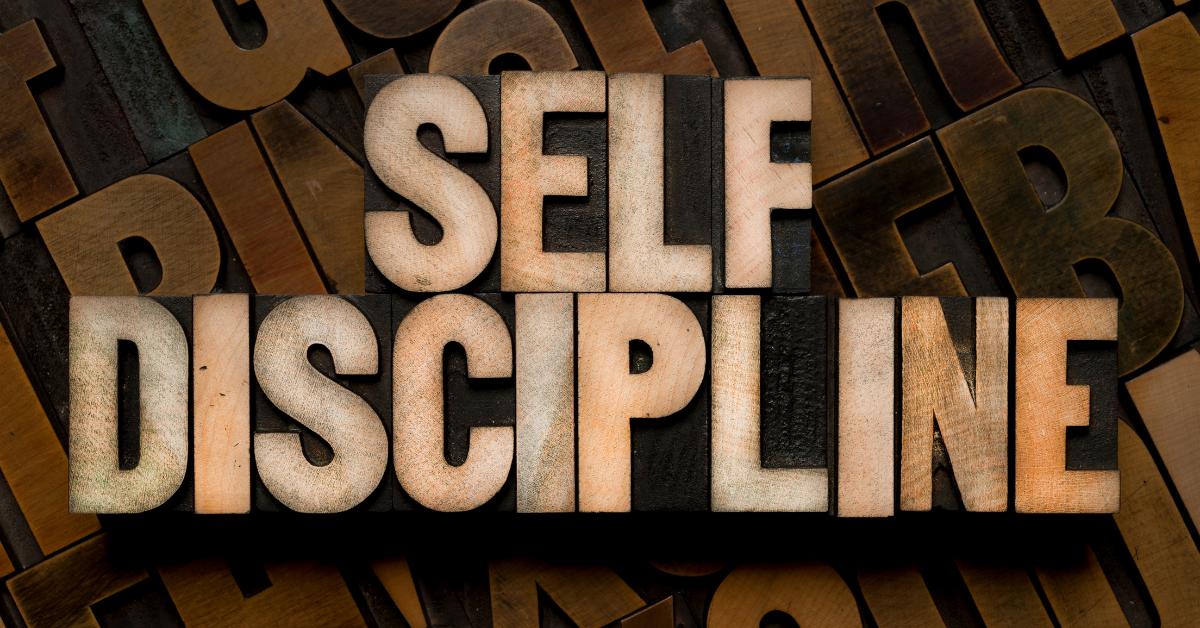 develop self discipline