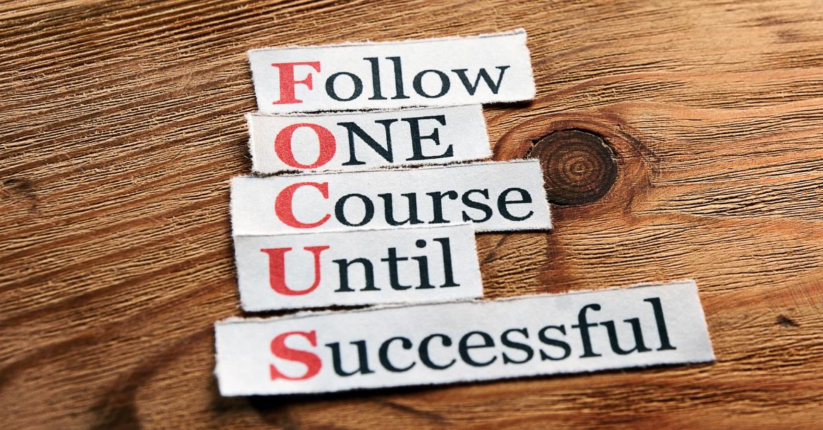 focus better
