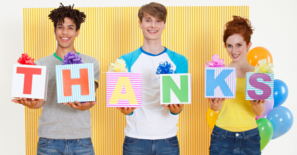 mastering the art of saying thanks