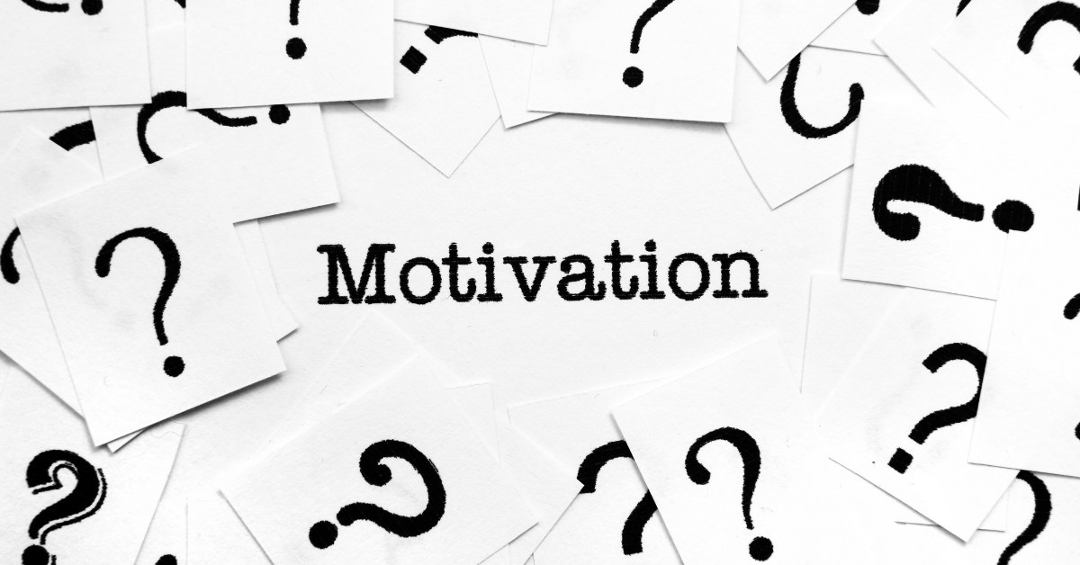 what takes your motivation