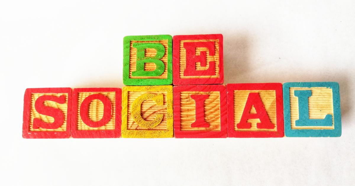 be more social