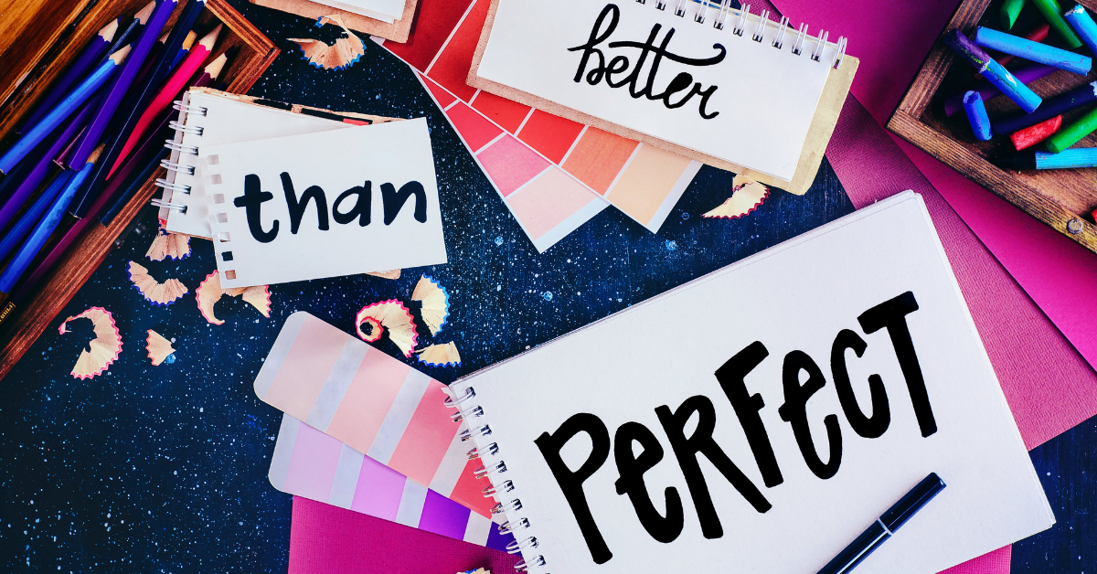 deal with perfectionism