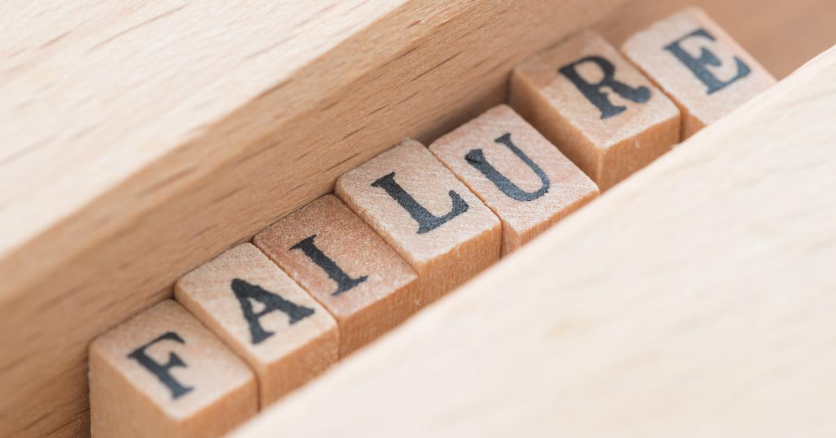do not believe in failure